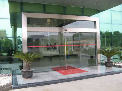 Frameless Automatic Sliding Glass Doors Bnr Door